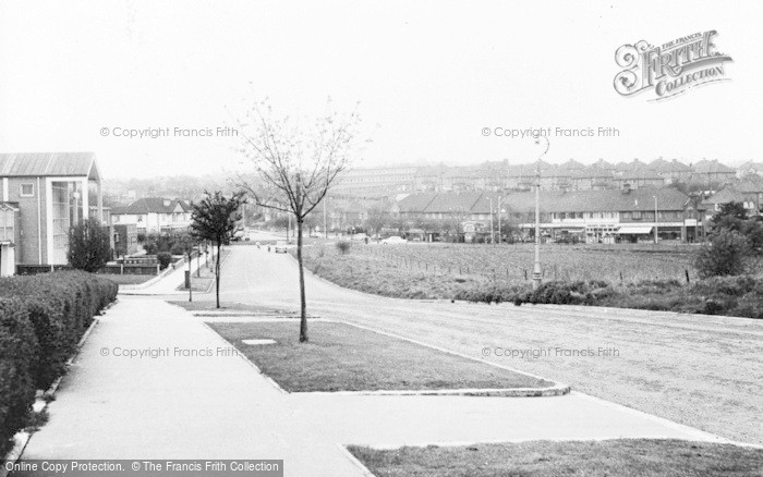 Photo of Addington, View From Huntingfield c.1960