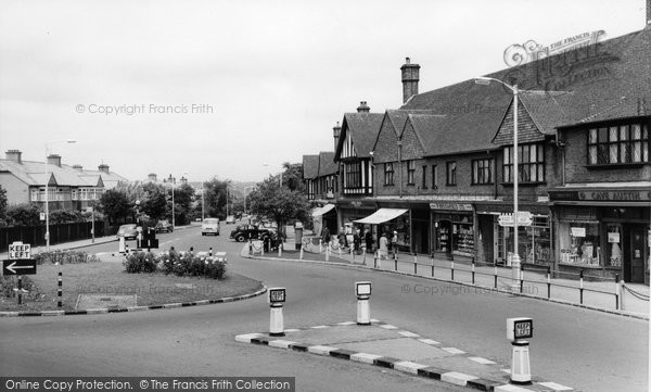 Photo of Addiscombe, Shirley Road, The Parade c.1965