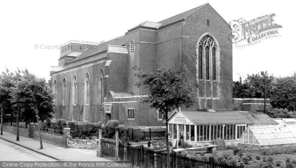 Photo of Addiscombe, St Mildred's Church c.1965