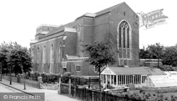 Addiscombe, St Mildred's Church c.1965