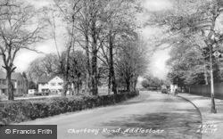 Chertsey Road c.1955, Addlestone