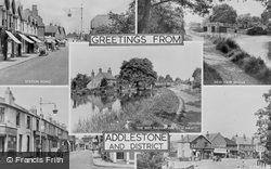 Addlestone, Composite c.1955