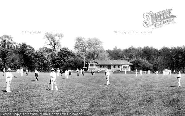 Photo of Addlestone, Cricket At St George's College 1906