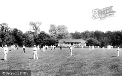 Addlestone, Cricket At St George's College 1906