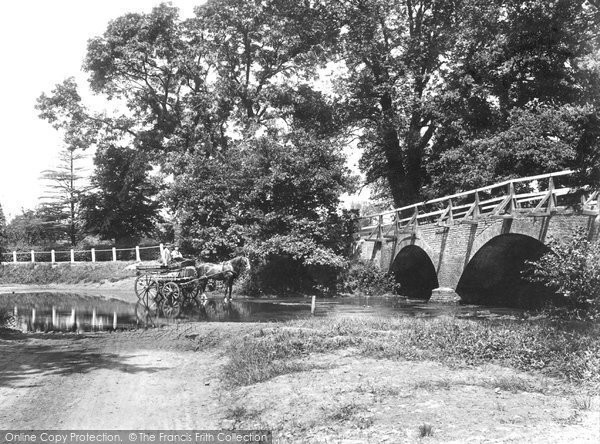 Photo of Addlestone, Crockford Bridge 1904