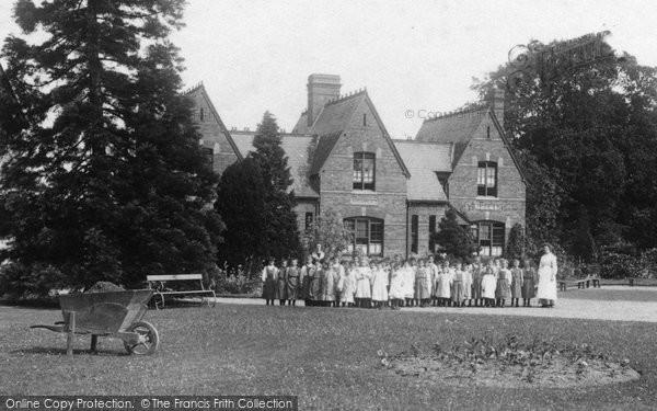 Photo of Addlestone, Girls At Princess Mary Homes 1904