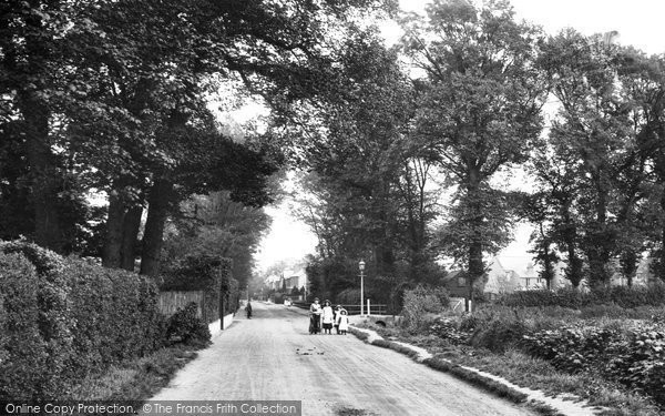 Addlestone, Green Lane 1906
