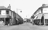 Addlestone, High Street 1954