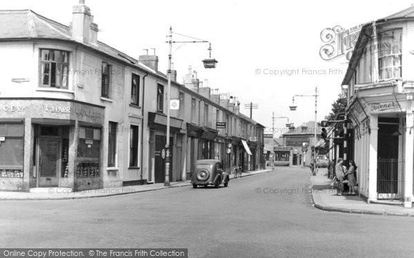 Photo of Addlestone, High Street c.1950