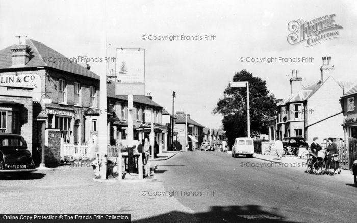 Photo of Addlestone, High Street c.1960