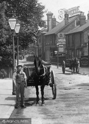 Horse And Cart, Station Road 1904, Addlestone