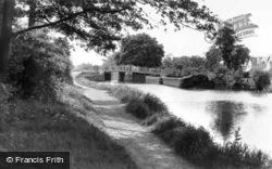 New Haw, The Bridge c.1950, Addlestone