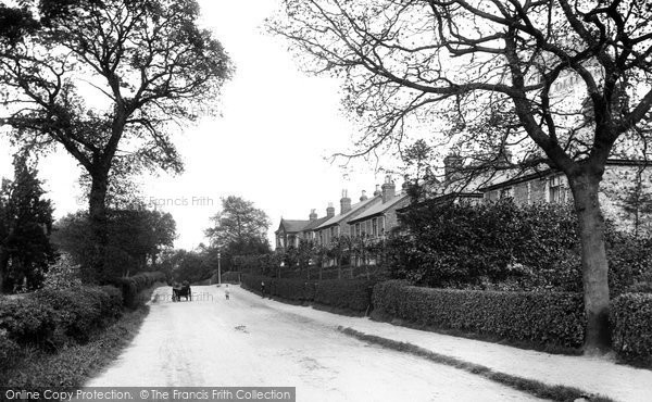 Photo of Addlestone, Spinney Hill 1906