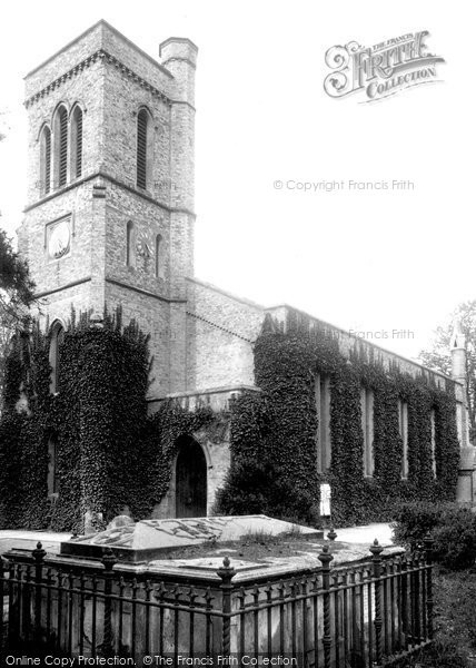Photo of Addlestone, St Paul's Church 1906