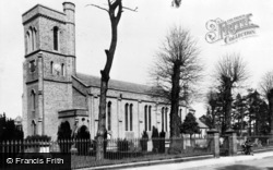 Addlestone, St Paul's Church c.1955