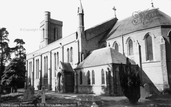 Photo of Addlestone, St Paul's Church c.1960