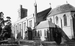 Addlestone, St Paul's Church c.1960