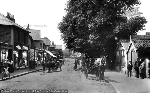 Photo of Addlestone, Station Road 1904
