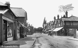 Addlestone, Station Road 1904
