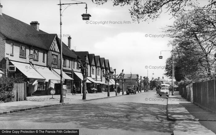 Photo of Addlestone, Station Road c.1950