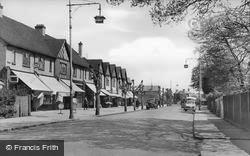 Addlestone, Station Road c.1950