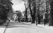 Addlestone, Station Road c.1955