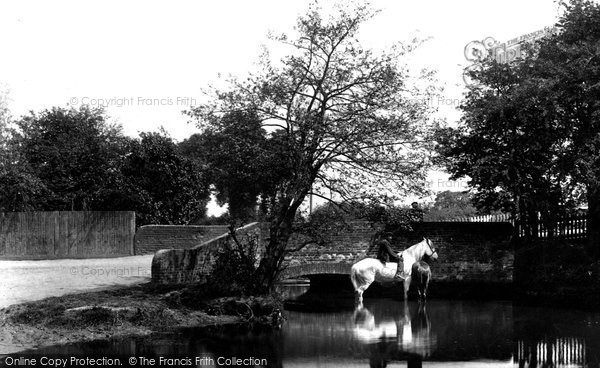 Photo of Addlestone, Thaw Bridge 1906