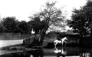 Addlestone, Thaw Bridge 1906