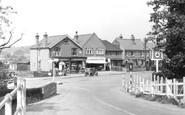 Addlestone, View From The Bridge c.1950