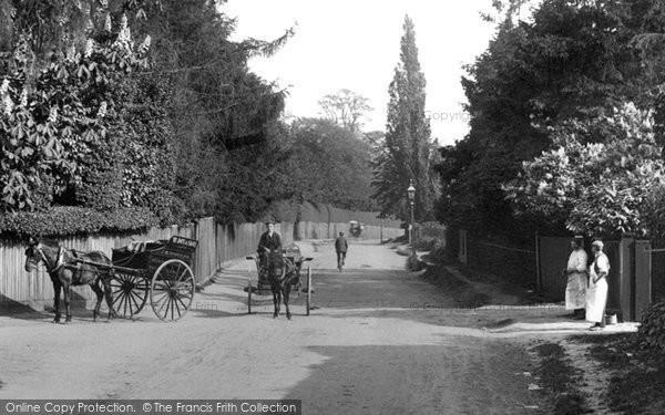 Photo of Addlestone, Woburn Hill 1906