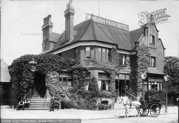 Photo of Addlestone, Woburn Park Hotel 1904