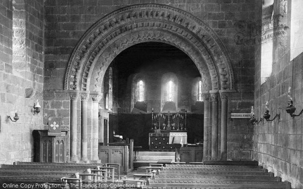 Photo of Adel, The Church Interior 1888