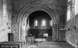 Adel, The Church Interior 1888