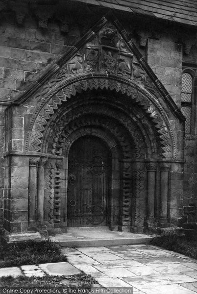 Photo of Adel, the Church of St John the Baptist, South Porch 1888