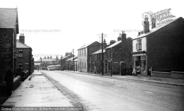 Photo of Adlington, Chorley Road c.1955