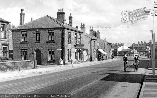 Photo of Adlington, Chorley Road c.1955