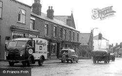 Melling's Van, Market Street c.1955, Adlington