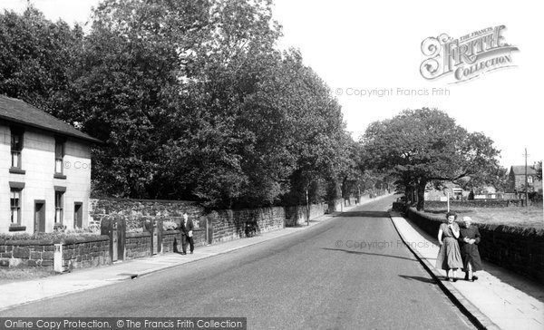 Photo of Adlington, Railway Road c.1955