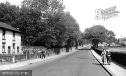 Railway Road c.1955, Adlington