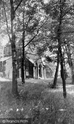 St Joseph's Rc Church And Grotto c.1960, Adlington