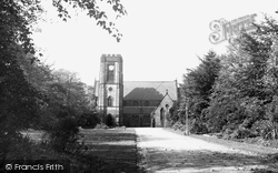 Adlington, St Paul's Church c.1955