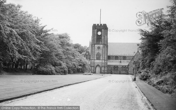 Photo of Adlington, St Paul's Church c.1955