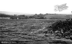 The Reservoir And Allance Bridge c.1955, Adlington