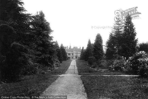 Photo of Adscombe, Quantock Lodge 1895