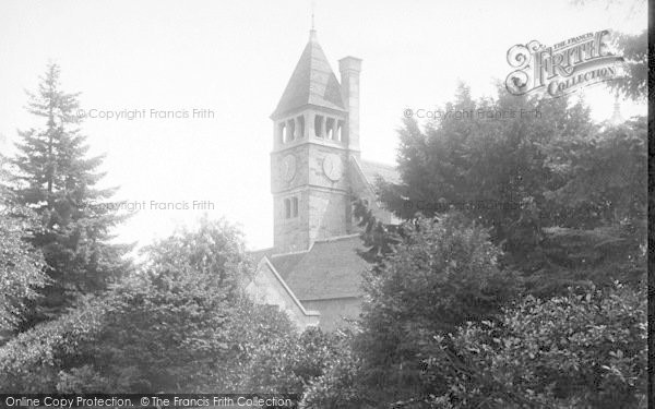 Photo of Adscombe, Quantock Lodge, Clock Tower 1895