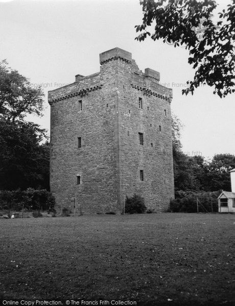 Photo of Affleck Castle, 1950