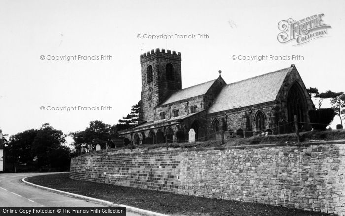 Photo of Ainderby Steeple, St Helen's Church c.1955