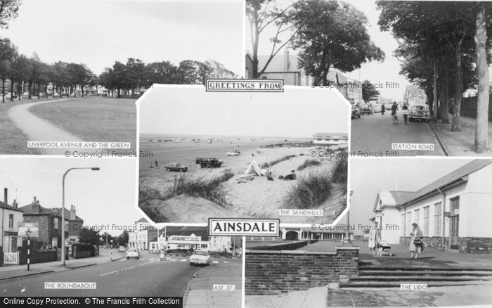 Photo of Ainsdale, Composite c.1965
