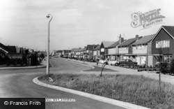 Cornwall Way c.1965, Ainsdale