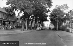 Station Road c.1965, Ainsdale